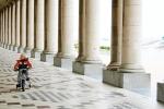 Kid on go-cart