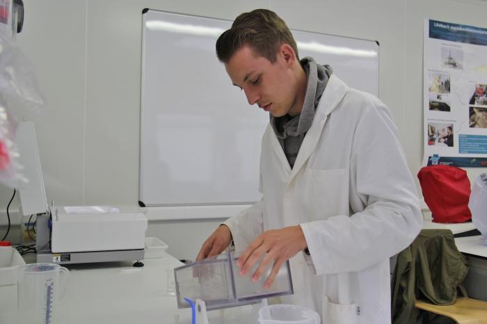Chemisch labo