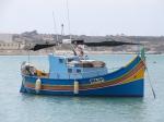 Traditionale vissersboot Marsaxlokk