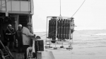 Preparing to lower the CTD, author: Chris German, Woods Hole Oceanographic Institution