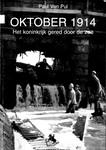 Oktober 1914: het koninkrijk gered door de zee