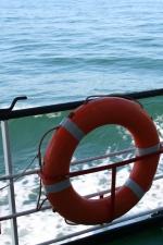 Een boei op de Zeeleeuw. (19.07.07)