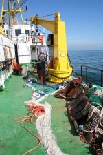 Netten en een kraan op de Zeeleeuw. (19.07.07)