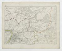 Carte topographique de la Belgique, dressée sous la direction de Ph.Vander Maelen, fondateur de l'établissement géographique de Bruwelles, à l'échelle de 1 à 20.000, en 250 feuilles. - Anvers