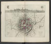 Toonneel der steden van 's Konings Nederlanden, met hare beschrijvingen, Uytgegeven by Joan Blaeu - Furna vernacule Veurne