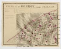 Carte de la Belgique d'après Ferraris, augmentée des plans des six villes principales et de l'indication des routes, canaux et autres traveaux exécutés depuis 1777 jusqu'en 1831. 42 feuilles. II Bruges