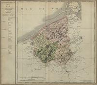 Département de la Lys, divisé en 4 arrondissements et en 36 cantons gravé par P.A.F. Tardieu.