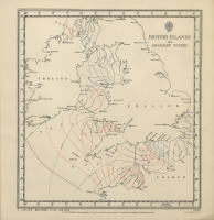 Atlas of tides and tidal streams - British Islands and adjacent waters. 4 hours before H.W. Dover