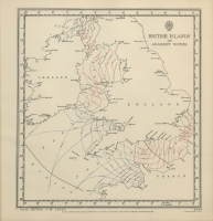 Atlas of tides and tidal streams - British Islands and adjacent waters. 1 hour before H.W. Dover