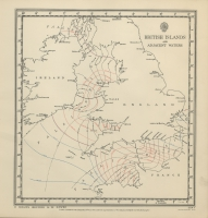 Atlas of tides and tidal streams - British Islands and adjacent waters. 3 hours before H.W. Dover