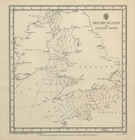 Atlas of tides and tidal streams - British Islands and adjacent waters. 2 hours before H.W. Dover