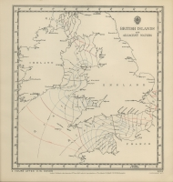 Atlas of tides and tidal streams - British Islands and adjacent waters. 3 hours after H.W. Dover