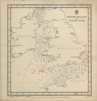 Atlas of tides and tidal streams - British Islands and adjacent waters. 4 hours after H.W. Dover