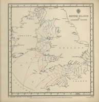 Atlas of tides and tidal streams - British Islands and adjacent waters. 5 hours after H.W. Dover