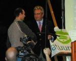 Overhandiging 'Groene jutter 2008' door Prins Laurent