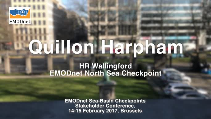 Quillon Harpham, HR Wallingford, on the outcomes of the EMODnet North Sea Checkpoint