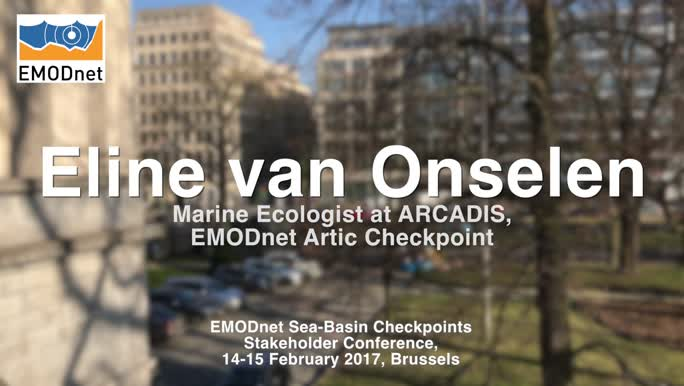 Eline Van Onselen, Marine Ecologist at ARCADIS, on the outcomes of the EMODnet Artic Checkpoint