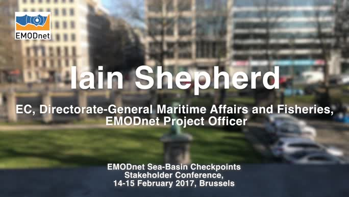 Ian Shepherd, DG MARE, on how EMODnet can support policy makers