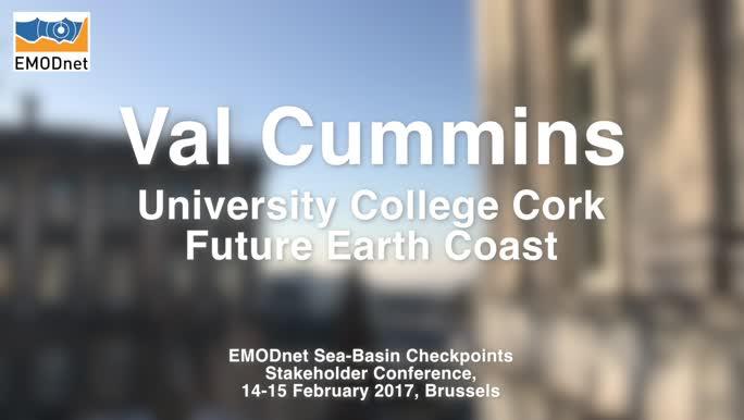 Val Cummins, University College Cork, on the importance of marine & maritime data