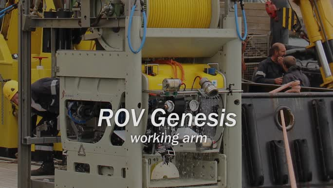 ROV Genesis - working arm