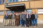 Groepsfoto van alle deelnemers aan de MolluscaBaseEditors workshop in Oostende.
