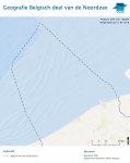 Boundary Belgian part of North Sea