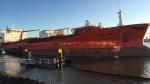 Olielek in Rotterdam