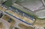 tijdelijke opvang luchtfoto