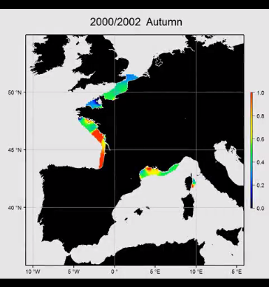 Temporal trend of algal toxicity along the French coast