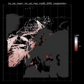 Thermal affinities for European marine species.groups