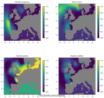 Distribution of fish living modes in European seas