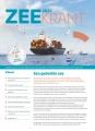 Zeekrant 2020: jaarlijkse uitgave van het Vlaams Instituut voor de Zee en de Provincie West-Vlaanderen