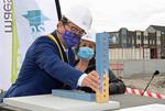 2020.06.30 InnovOcean Campus foundation stone