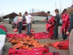 Reddingsoefening olv Hogere Zeevaartschool