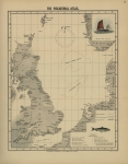 Olsen, O.T. (1883). The piscatorial atlas of the North Sea, English and St. George's Channels, illustrating the fishing ports, boats, gear, species of fish (how, where, and when caught), and other information concerning fish and fisheries. Taylor a