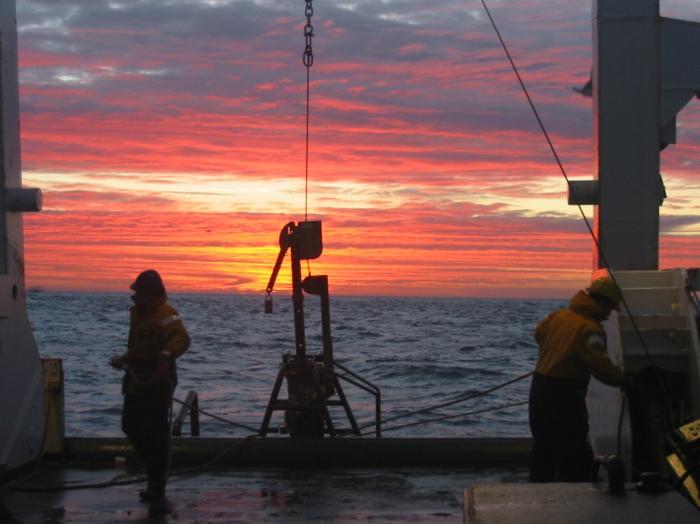 working at sunrise II