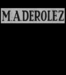 Derolez, M.A.