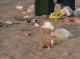 Meeuwen en afval