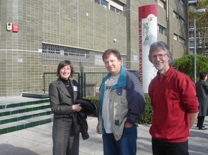 Ellinor Michel, Eduard Stloukal and Paul Kirk