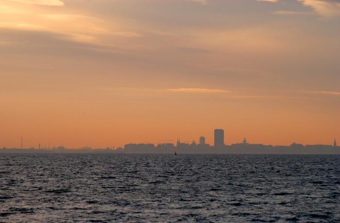 Oostende in de vroege ochtend