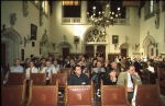 Picture of meeting at plenary room in former council house Brugge.