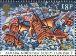 Spaanse Armada - Engelse vloot, 1588