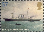 "Britse oceaanstomer ""SS City of New York"" (1888)"