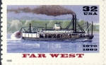 "Amerikaans stoomschip ""Far West"" (1870-1883)"