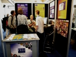 Ward Appeltans and visitors at our info stand at e-Biosphere in London