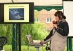 Ornithologists describing all the local bird species they recorded in one morning at the BioBlitz