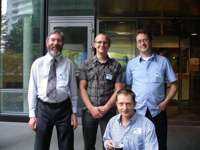 Charles Hussey, Ward Appeltans, Yde de Jong, Louis Boumans