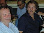 Picture of Carlo Heip and Geoff Boxshall, at the back Christos Arvanitidis and Paul Somerfield