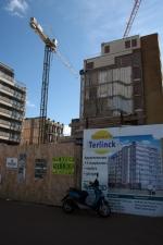 Bouwproject voor appartementen
