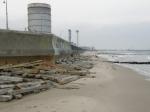 Hel Peninsula massive seawall
